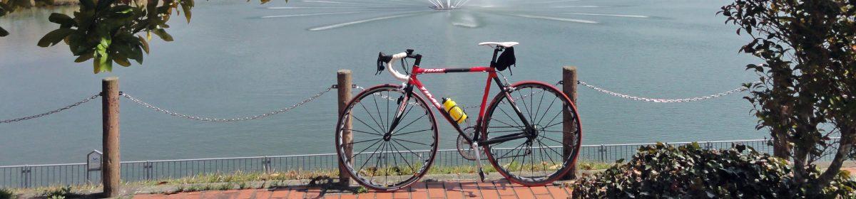 吉田カバンと自転車と